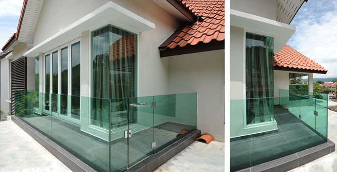 Balcony Glass Inpro Concepts Design