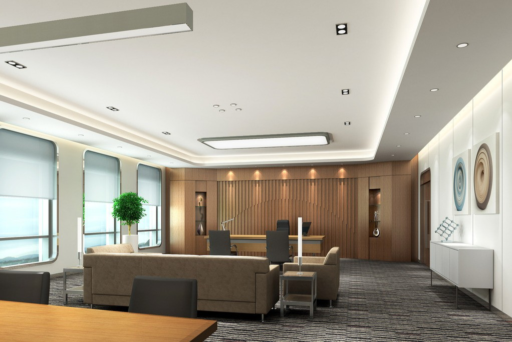 Office interior design inpro concepts design for Director office room design