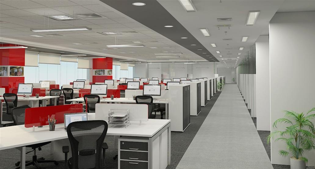 office interior. Office Interior E