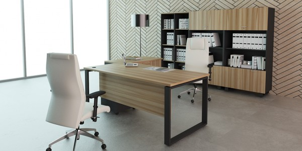 Office director table inpro concepts design for Director office room design