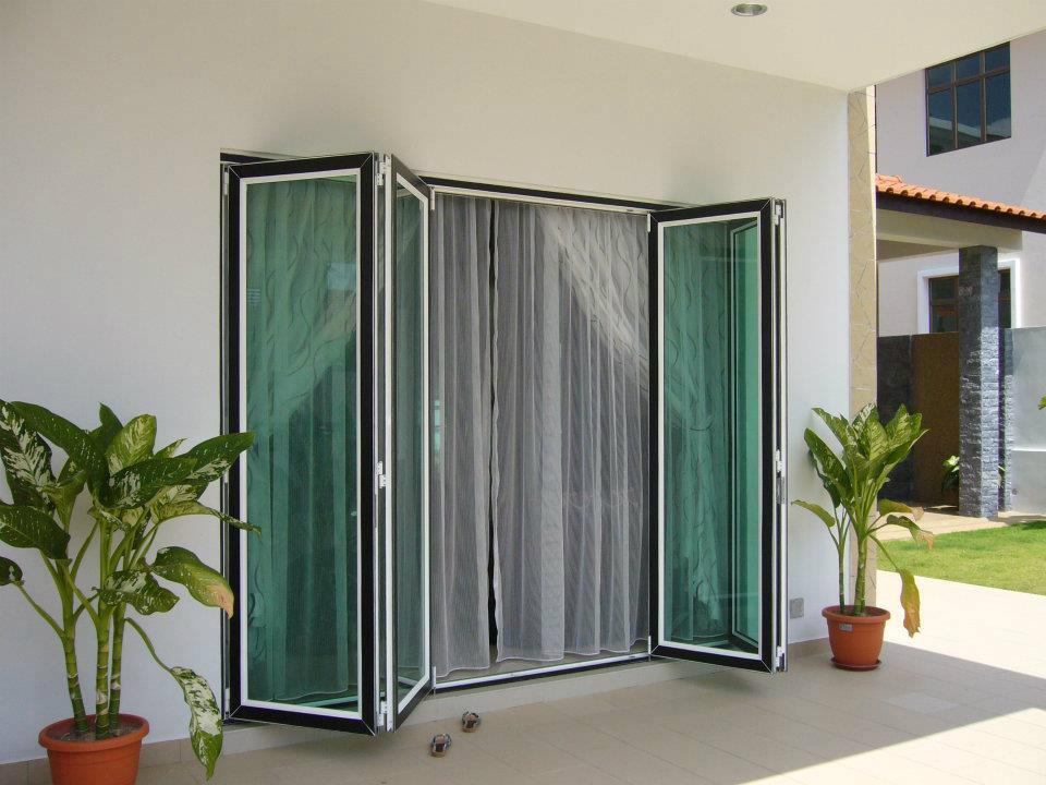 Glass door inpro concepts design for Door design johor