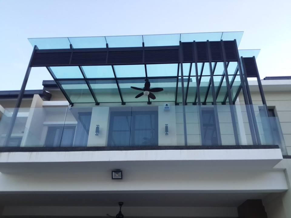 Glass canopy inpro concepts design for Glass roof design
