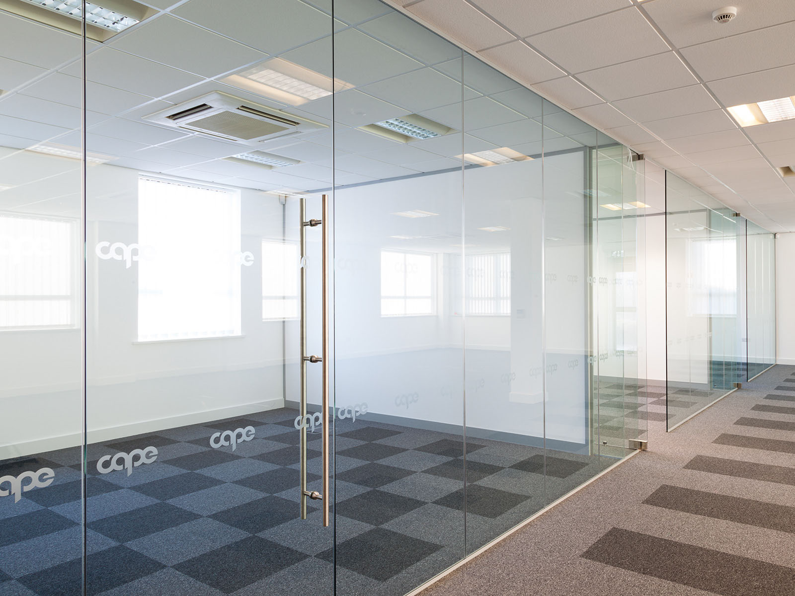Glass partition inpro concepts design Office partition walls with doors