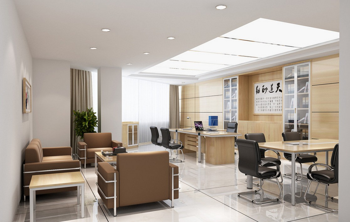 Renovation inpro concepts design for Director office room design